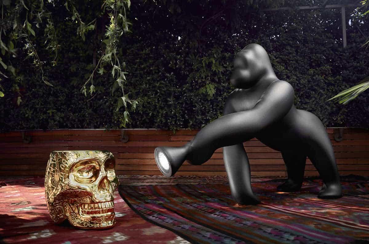 Lampa podłogowa Kong