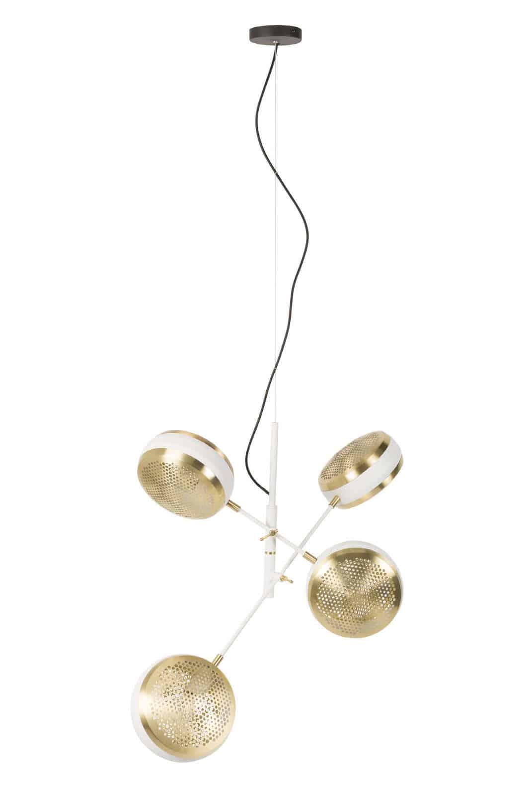 Lampa wisząca Gringo Multi biała
