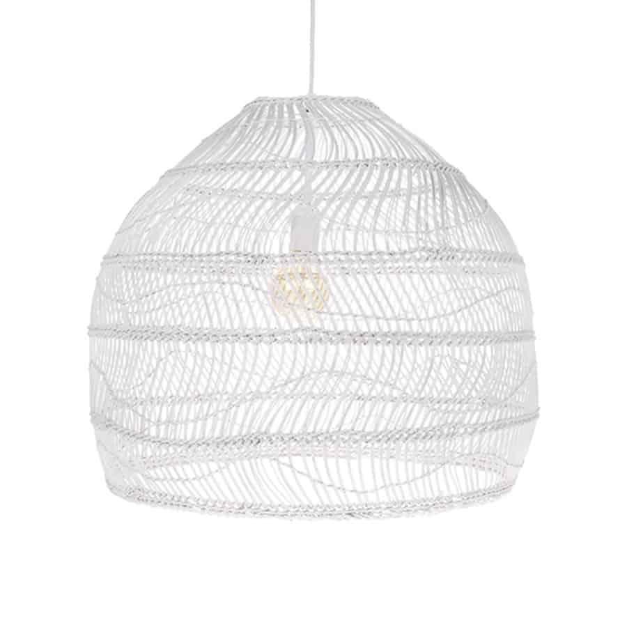 Lampa wisząca wiklinowa rozmiar L
