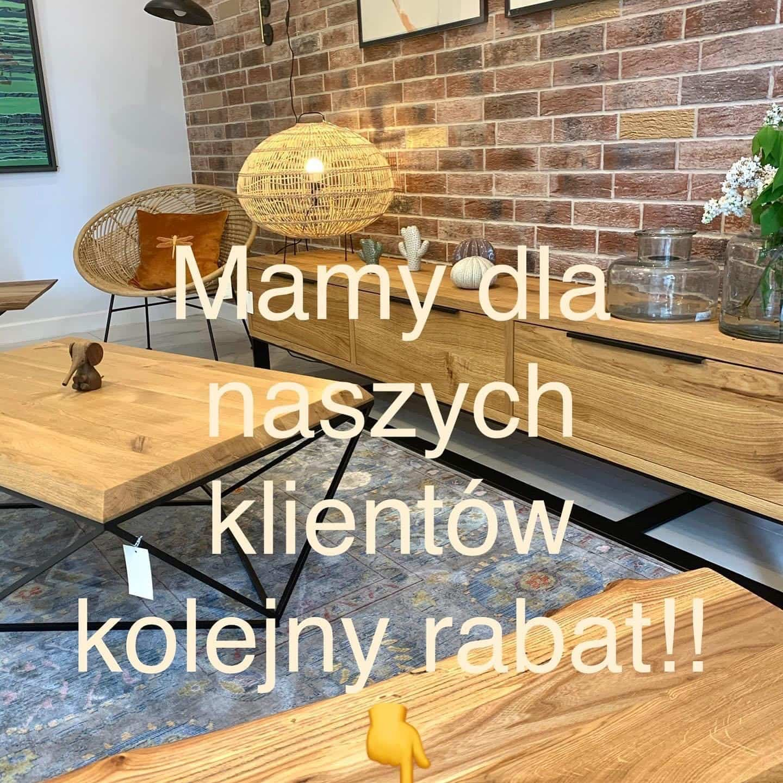 Meble z litego drewna - Rabat 10 %