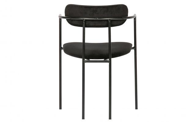 Krzeslo Do Jadalni Ivy Aksamit Czarny 2