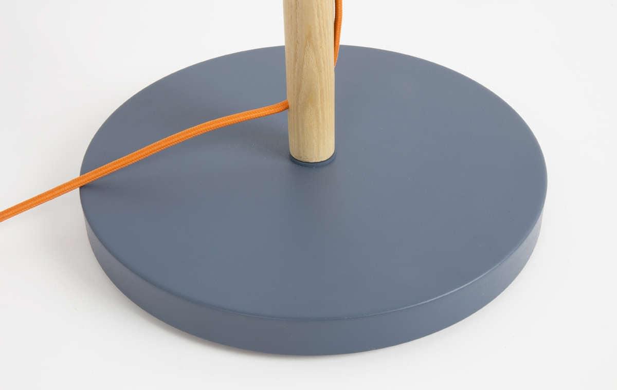 Study Floorlamp Grey Detail Plate