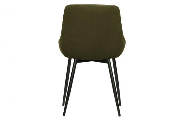 Krzeslo Do Jadalni Selin Aksamit Lesny Zielony 4
