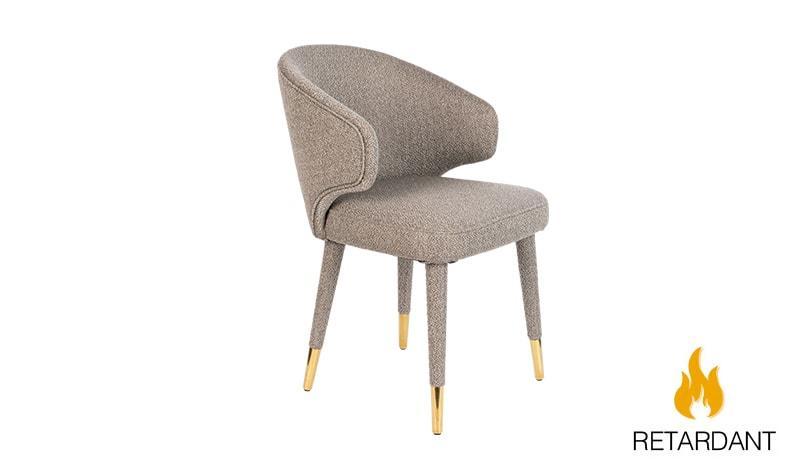 Lunar Chair Taupe