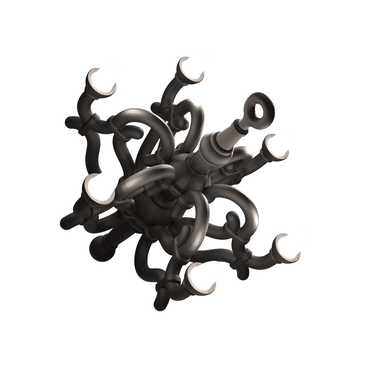 01 Qeeboo Fallen Chendalier M By Studio Job Black