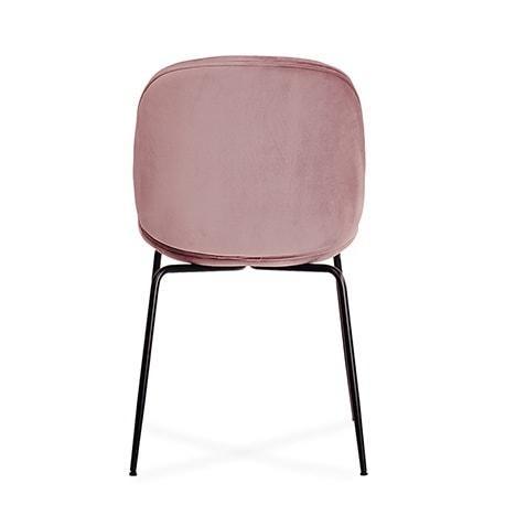 Krzeslo Boliwia Rozowe Siedzisko Czarne Nogi Komplet Pl 2 (3)