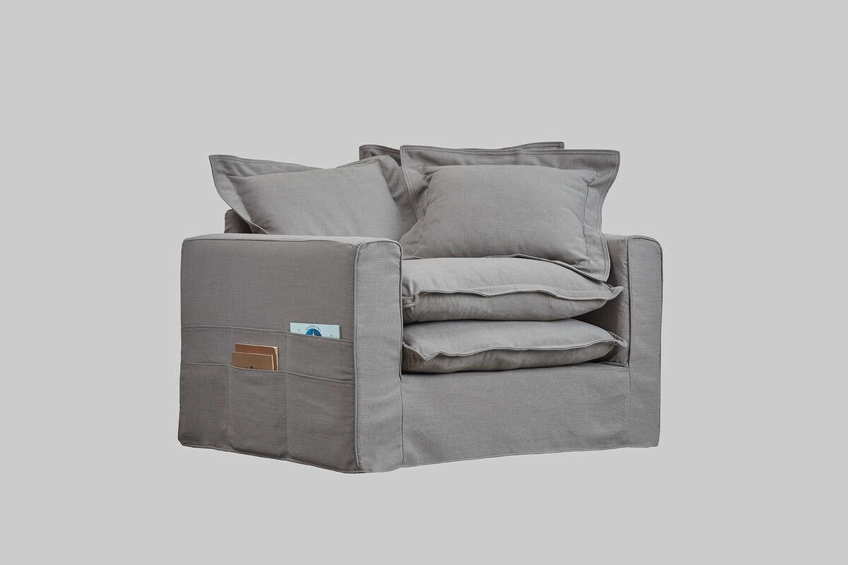 Meike Armchair Grey