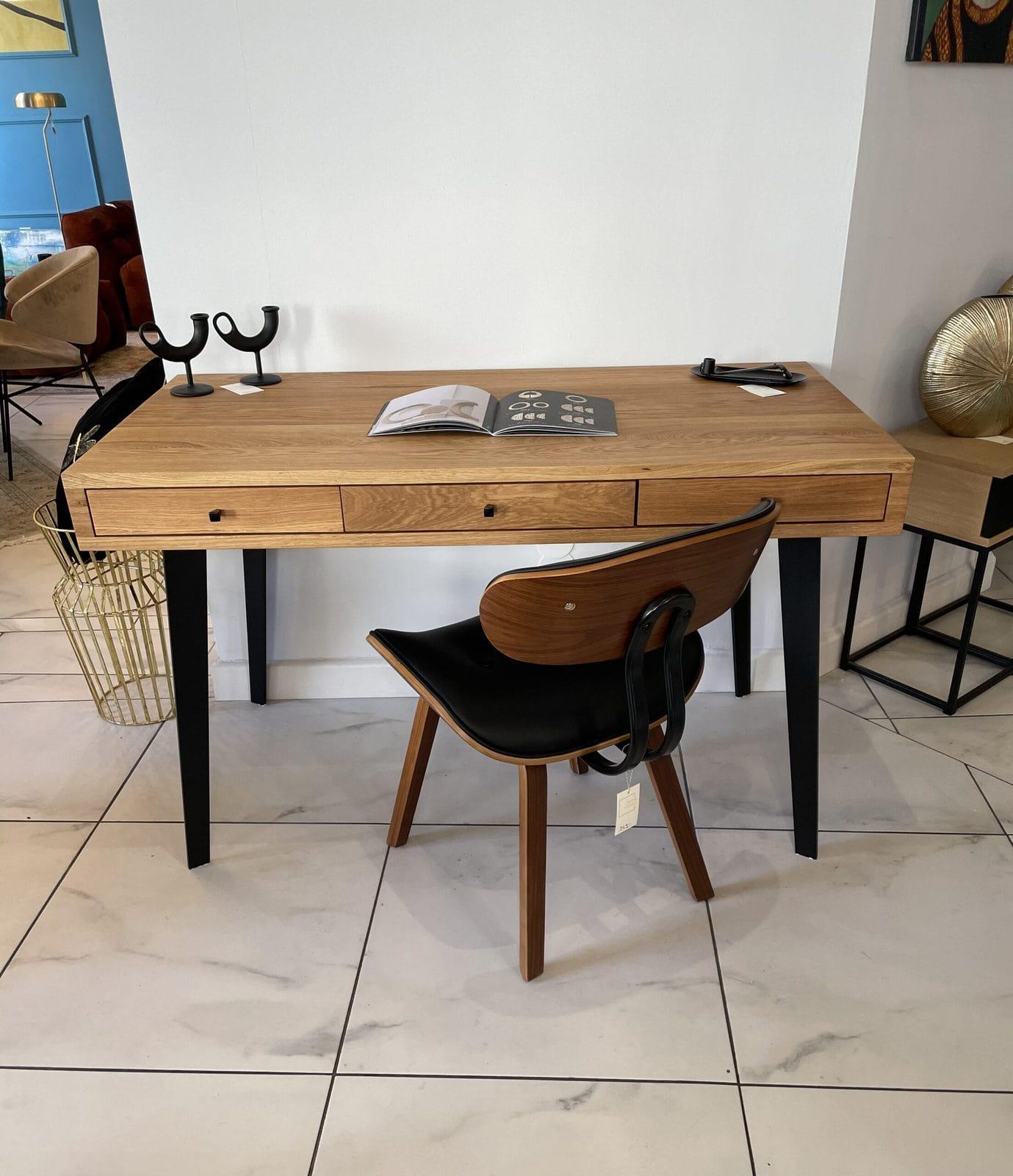 biurko stylowy kwadrat